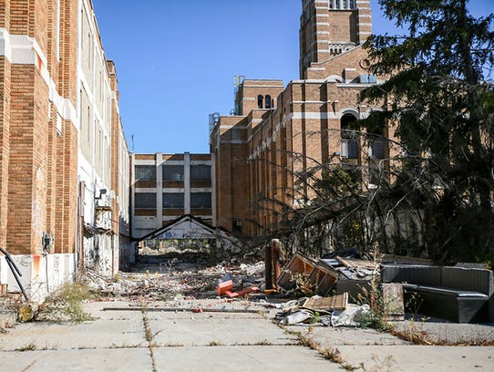 The former headquarters of American Motors Corporation,