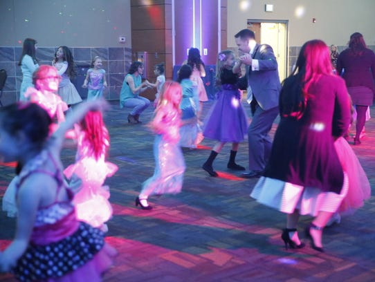 The annual Mom Prom at the Farmington Civic Center