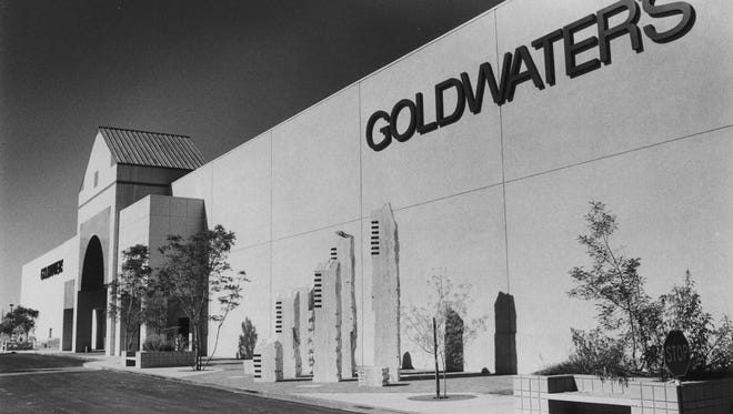 Goldwater's store at Scottsdale Fashion Square in 1988.