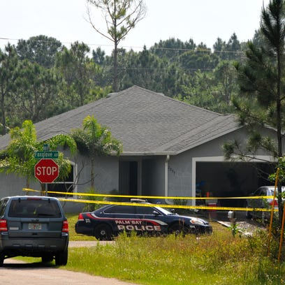 Home on Foxglove Avenue where two people died in a
