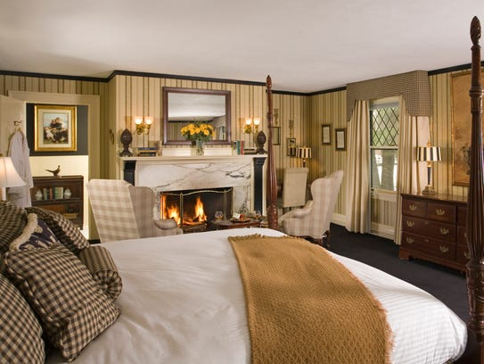 All the rooms at The Manor on Golden Pond are beautifully