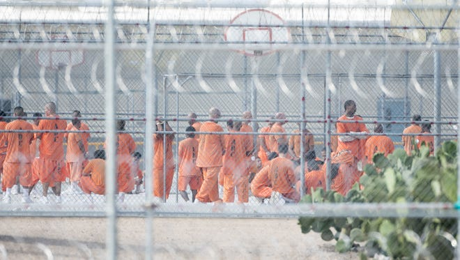 The Arizona Department of Corrections announced Wednesday it had moved an additional 113 inmates to three county jails and state facilities after housing at a private prison near Kingman was made uninhabitable by last week's rioting.