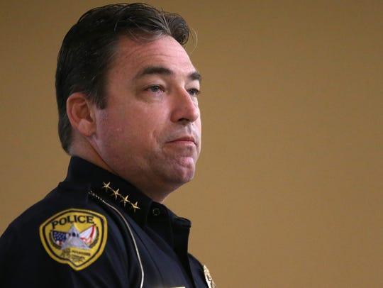 TPD Chief Michael DeLeo