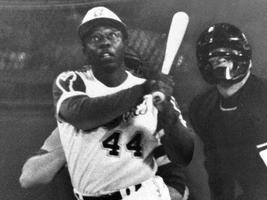 Forty Years Ago On April 8 Hank Aaron Hits Career Home Run No 715