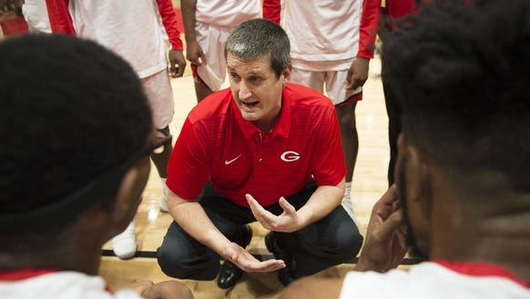 Greenville High coach Mike Anderson will lead his Red