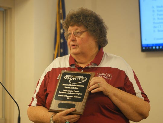 Mary Anderson of Deming High School was named Career