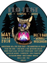 FLO Fest will be on May 11 and 12, at Bill's Bar in
