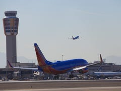 Yes, it really happened on an airport tarmac in metro Phoenix