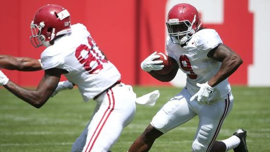 Bo Scarbrough is now eligible to play after missing the first four games of this season due to an NCAA violation.