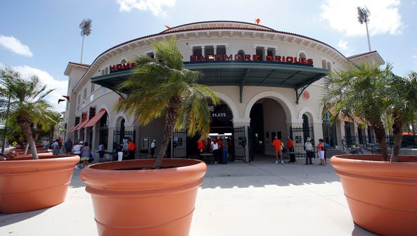 Ed Smith Stadium was rated the best baseball park in