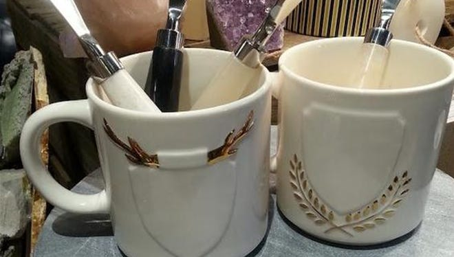 Two mugs + one Sharpie