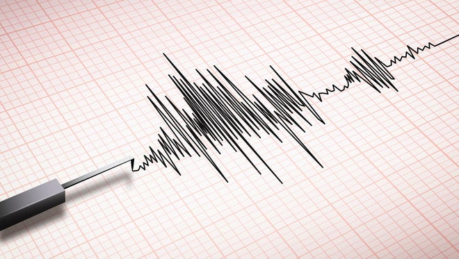 More than 200 small earthquakes have occurred in the past three days in the Salton Sea area of California, according to the U.S. Geological Survey.
