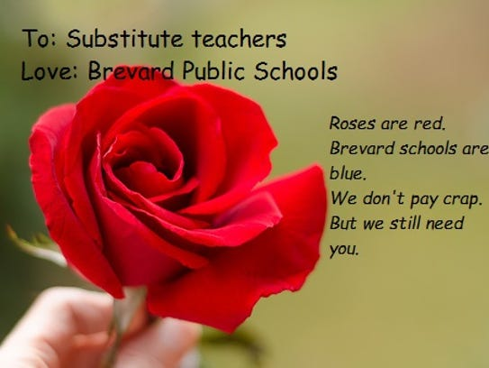 Schools seeking love. Any takers?