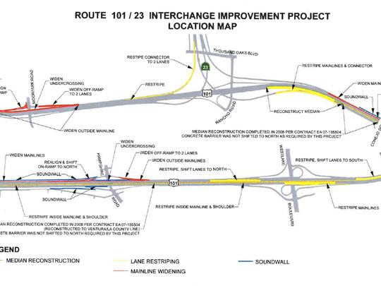 101/23 interchange improvement project