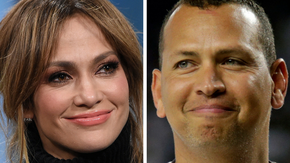 Jennifer Lopez and Alex Rodriguez, rumored lovebirds.
