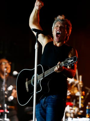 Scenes from the Jon Bon Jovi concert at the Dick's Sporting Goods Open at En-Joie Golf Club in Endicott on Friday August 18, 2017.