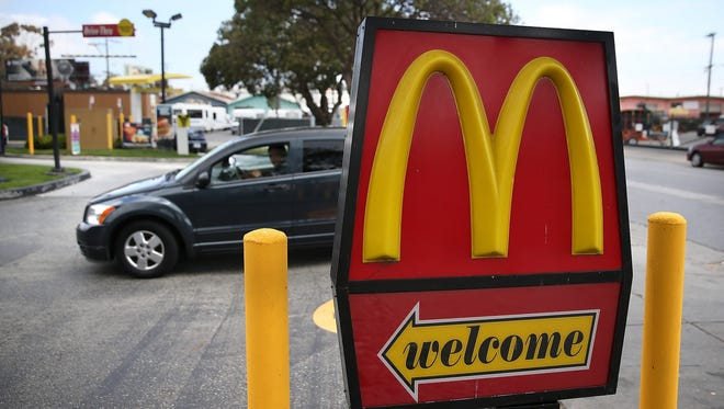 McDonald's is adding 2,000 workers across the state during a one-day job push.