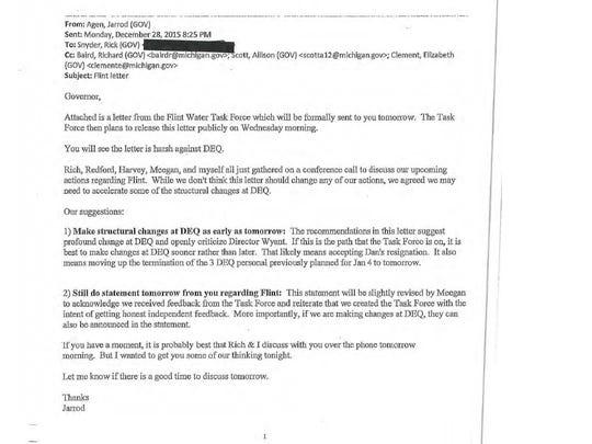 Page 269 of Gov. Rick Snyder's Flint e-mails.