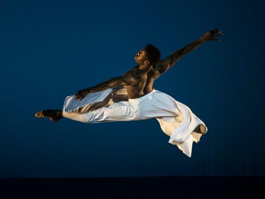 Brooklyn Mack of the Washington Ballet will perform