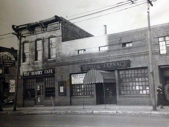 This 1949 photo shows the Sunset Terrace nightclub, 873 Indiana Ave., where acts such as the Count Basie Orchestra, Lionel Hampton and B.B. King performed.