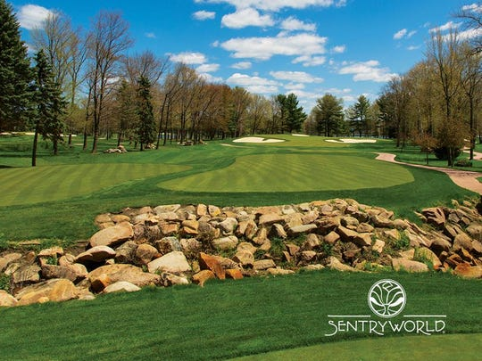 SentryWorld Golf Course was ranked 34th in a listing