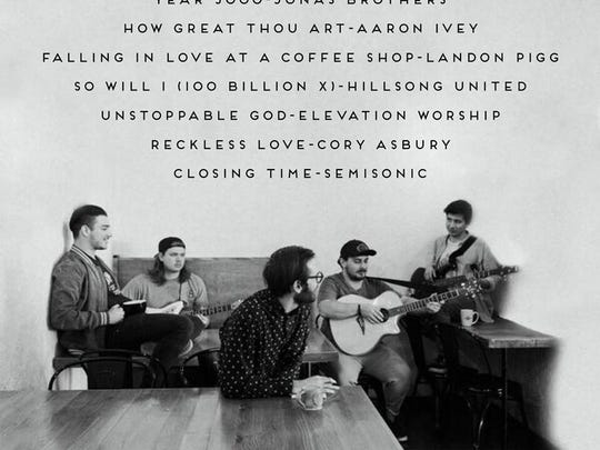 The Baristuds will perform covers of songs Friday,