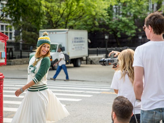 """Gossip Girl'' actress Jessica Szohr, a Wisconsin native and big Green Bay Packers fan, is featured in this year's national NFL Women's Apparel Campaign."