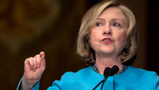 Democrat Hillary Rodham Clinton is likely to seek the presidency in 2016.
