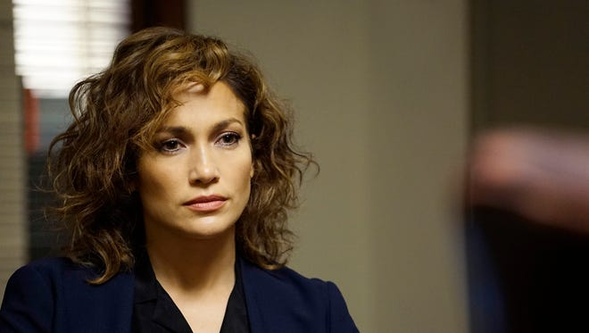 Jennifer Lopez stars in the series premiere 'Shades of Blue.'