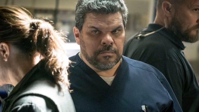 "Luis Guzmán of Sutton portrays nurse Jesse Sallander on the CBS TV show ""Code Black."""