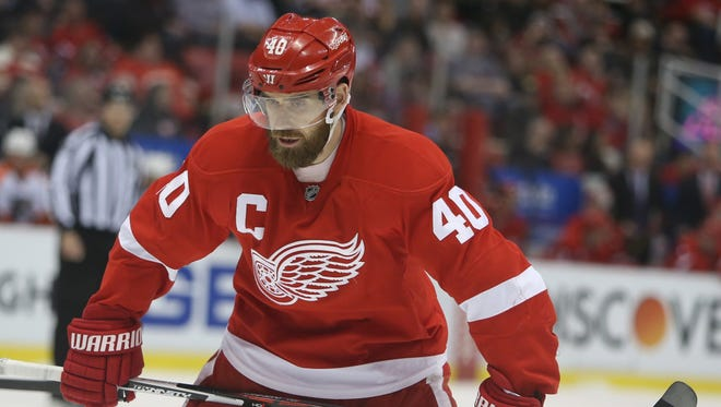Detroit Red Wings' Henrik Zetterberg.