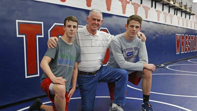 Bowen, Bud and Brock Doolen Wednesday, Feb. 8, 2017 in Mesa.