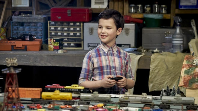 Iain Armitage as Sheldon Cooper on 'Young Sheldon.'