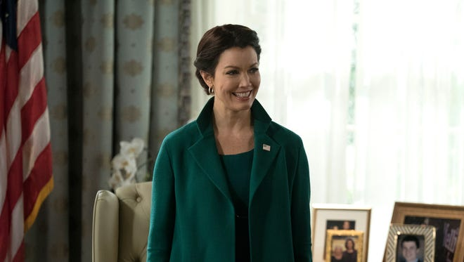 Bellamy Young as Mellie Grant on 'Scandal.'