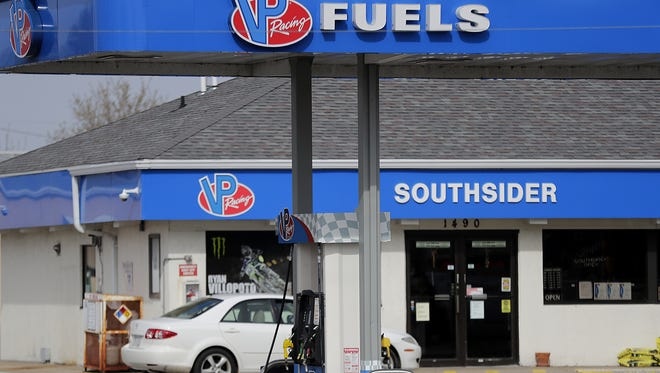 Southsider gas station closed in May and was torn down in June in Menasha.