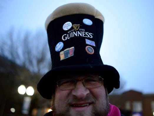 Brandon Ruck's drinking hat earns praise at the Main