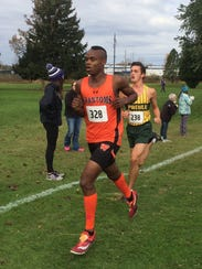 West De Pere sophomore Jermaine Hemauer placed sixth