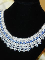 A fine beaded necklace by Jean Battaglia, just in time for holiday parties.