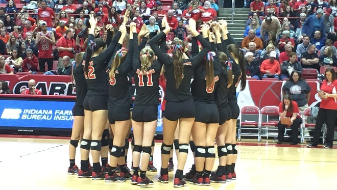 Wapahani set to battle Speedway for Class 2A state championship at Ball State's Worthen Arena.