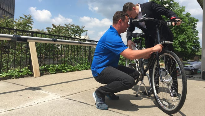 """California-based Spinway is opening a """"bike hire"""" rental station at the Radisson Rochester Riverside hotel."""