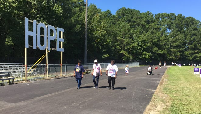 The Nandua Relay for Life 2017 was held Sept. 9-10, 2017 in Onley, Virginia.