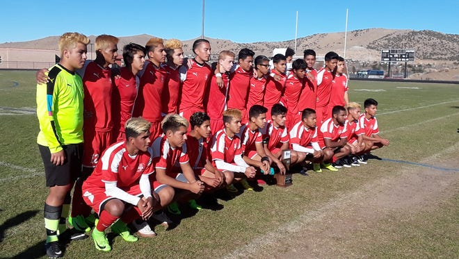 Coronado beat Wooster, 2-1 in the boys 4A state championship on Saturday at North Valleys.
