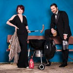 """Megan Mullally and Nick Offerman bring their """"Summer of 69: No Apostrophe"""" tour to Phoenix on Thursday, April 23."""