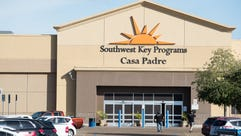 The Southwest Key Casa Padre Facility in Brownsville,