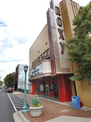 The Roxy Regional Theatre on Franklin Street.