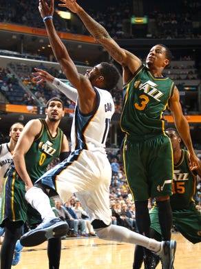 December 22, 2014 -  Memphis Grizzlies Mike Conley