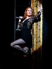 """A recent publicity photo shows actor Dylis Croman as Roxie Hart in the production of """"Chicago"""" that plays Hammons Hall for a three-show run Dec. 5-7, 2017."""
