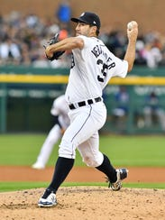 Tigers pitcher Justin Verlander