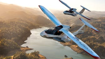 The ICON A5 is made to be so intuitive that nearly anyone can learn to fly it in less than 30 hours. A James Bond-style piece of machinery, it has sports-car style and maneuvers on water with the quickness of a jet ski.