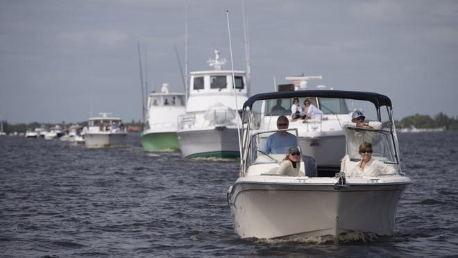 The 47th St. Lucie River Blessing of the Fleet will take place at noon Feb. 10. HOBIE HILER/TCPALM